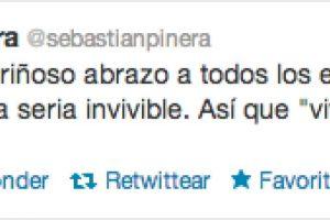 Foto:twitter @sebastianpinera. Imagen Por: