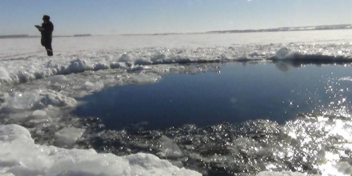 Fotos: Este es el cráter que dejó el meteorito en Rusia