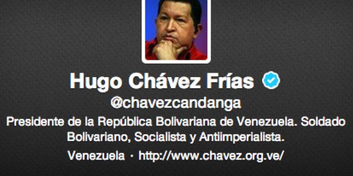 Hugo Chávez anuncia su regreso a Venezuela mediante Twitter