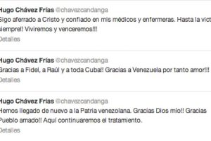 Foto:Twitter Hugo Chávez @chavezcandanga. Imagen Por: