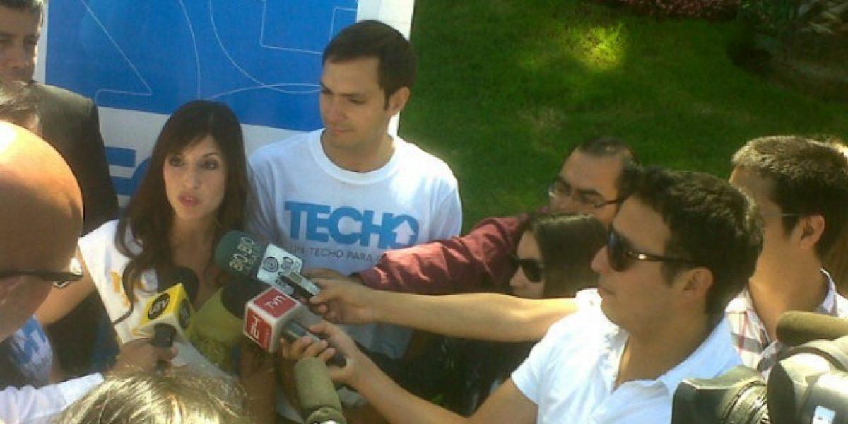 Techo para Chile presentó a su candidata a reina para el Festival de Viña del Mar
