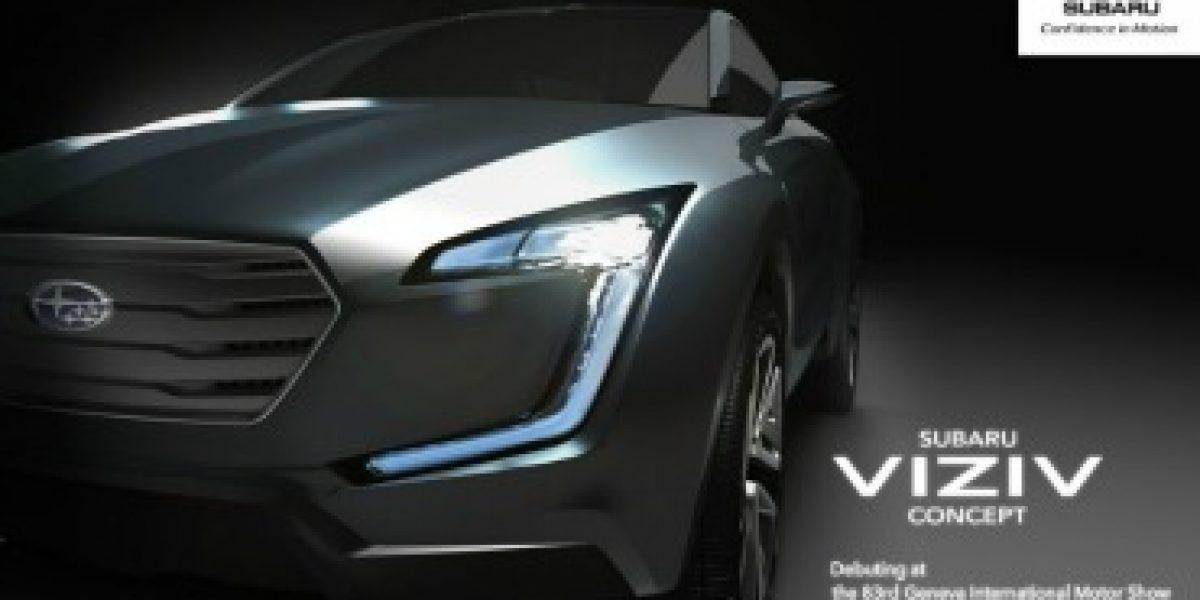 GINEBRA 2013: Subaru muestra parte de su nuevo Concept