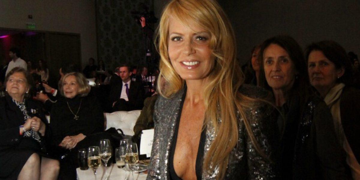 Medios argentinos aseguran que Cecilia Bolocco estaría embarazada del