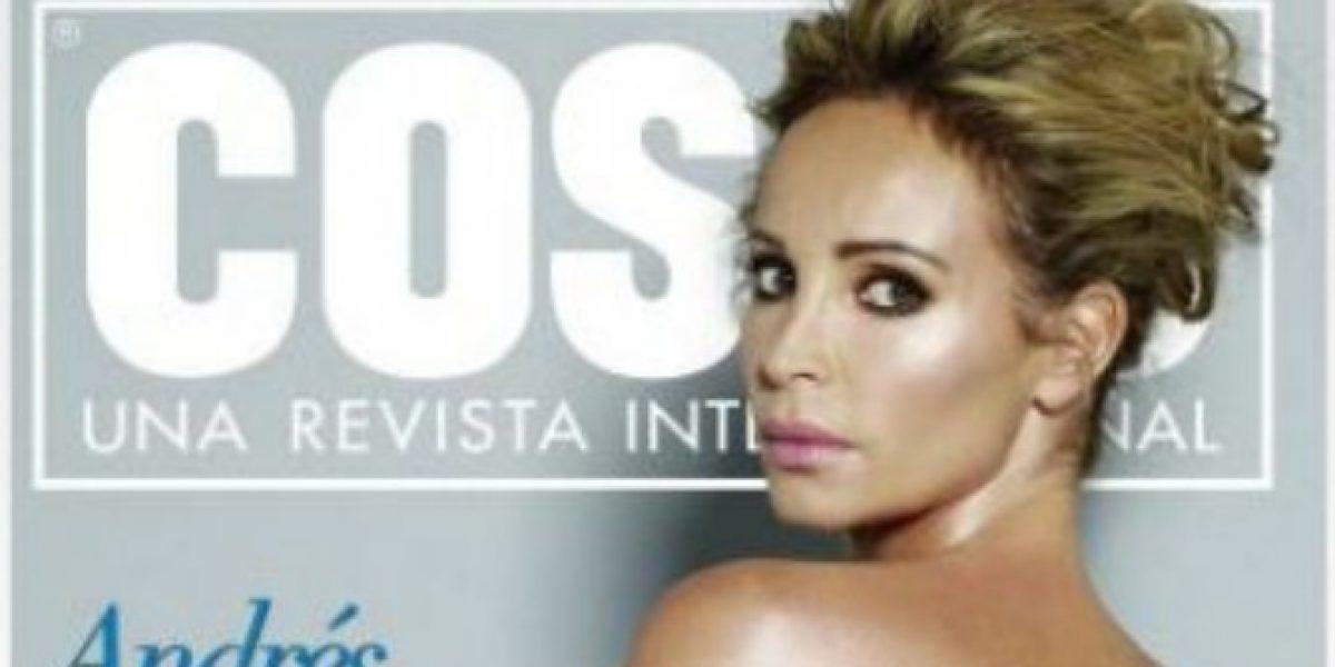 La osada portada que protagonizó Eva Gómez antes de ir al Festival