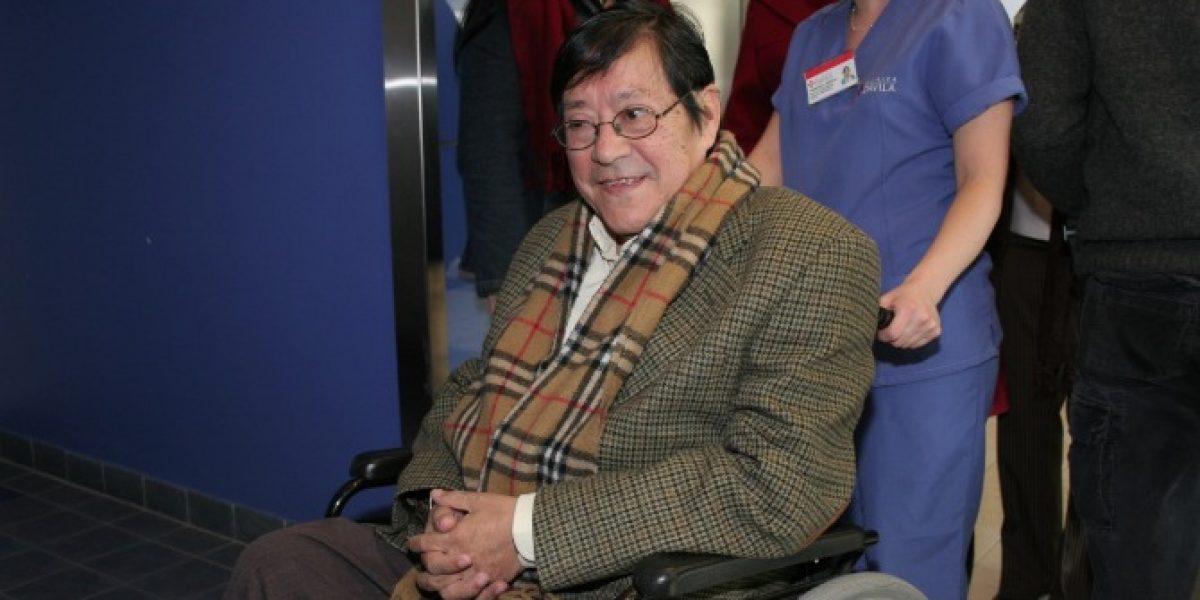 Jorge Pedreros continúa con ventilación mecánica