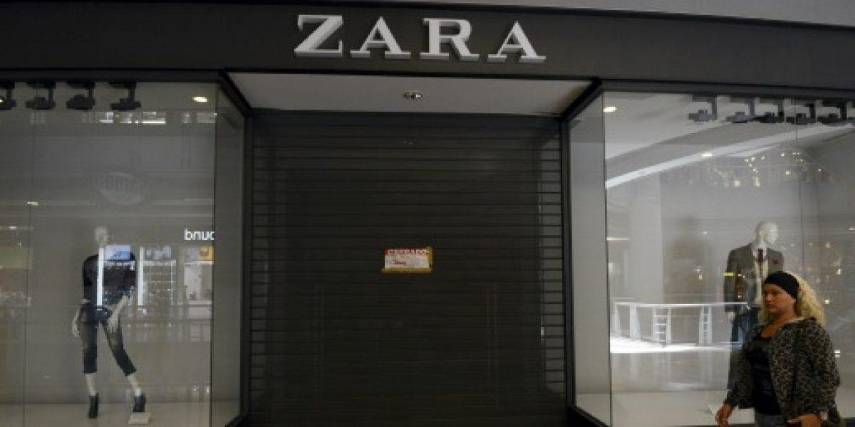 Zara vuelve a abrir en Venezuela luego de cierre temporal impuesto por el gobierno
