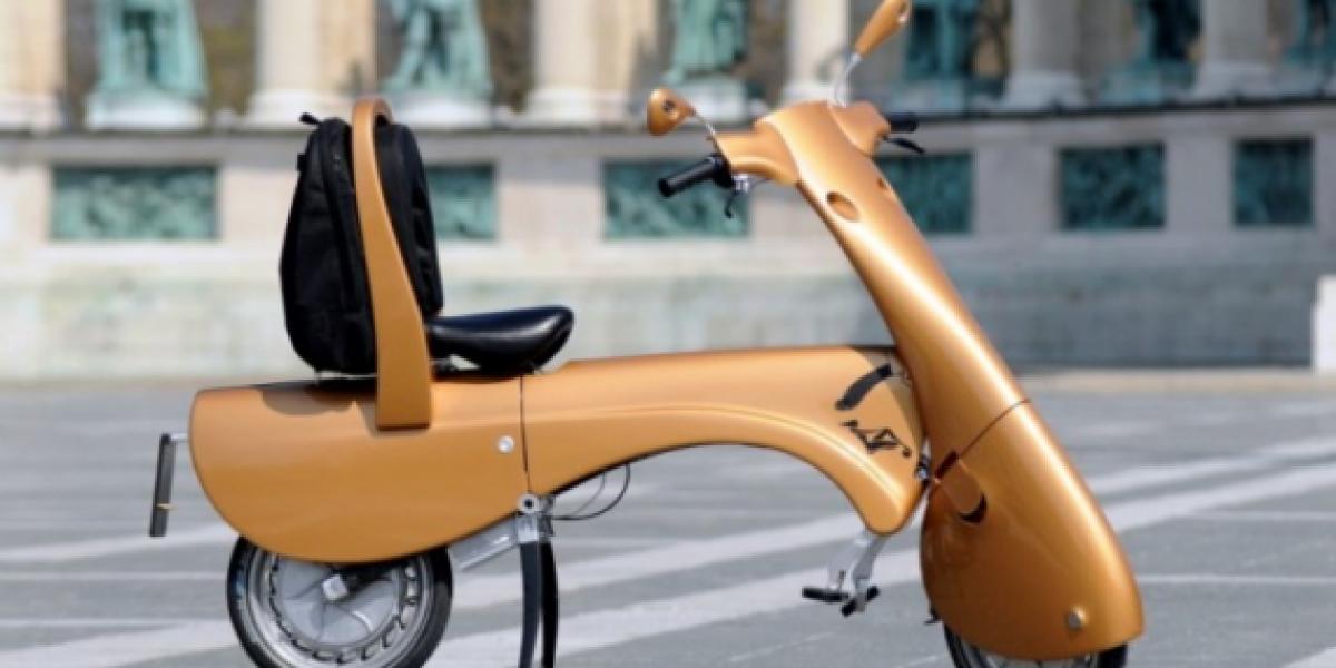 Moto plegable existe y es ecológica