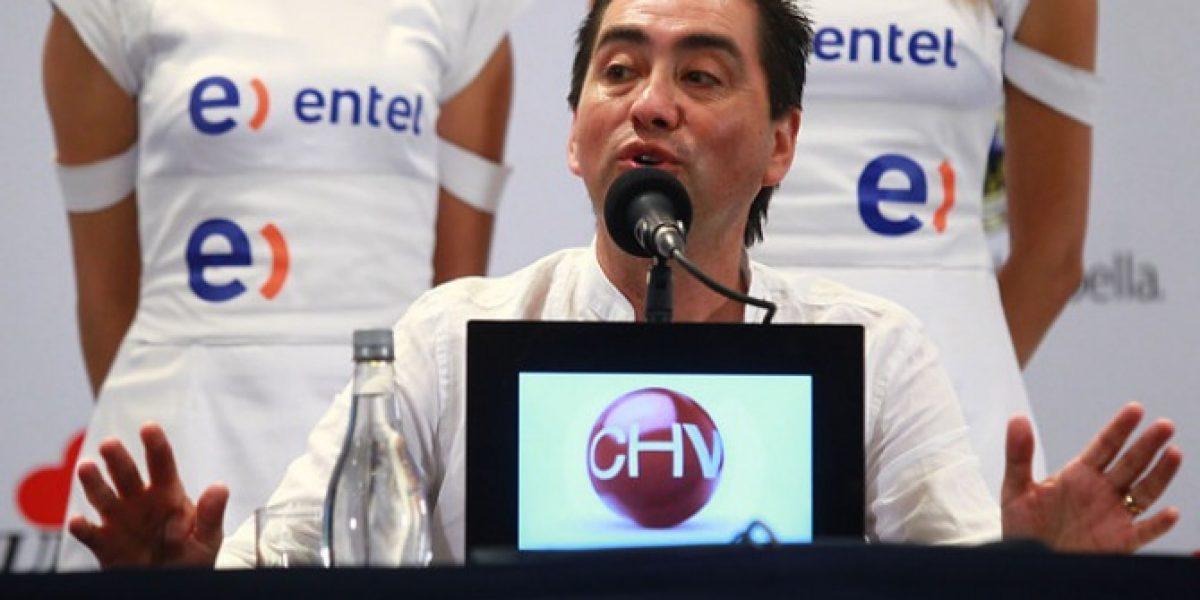 Nancho Parra antes de su presentación en la Quinta: