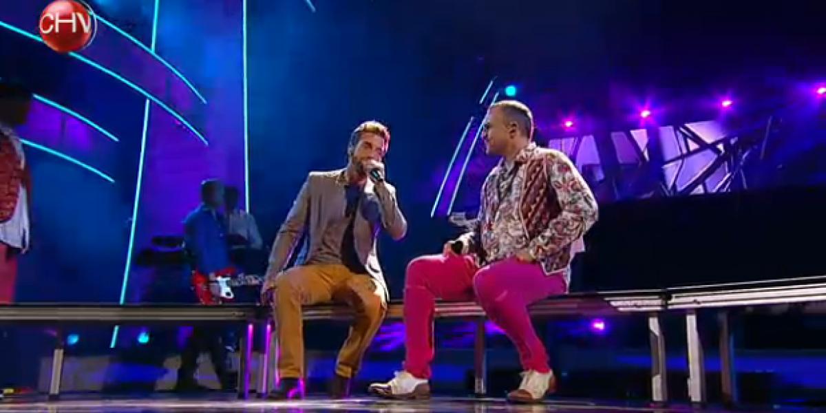 Miguel Bosé canta con Pablo Alborán y vuelve locas a sus fans