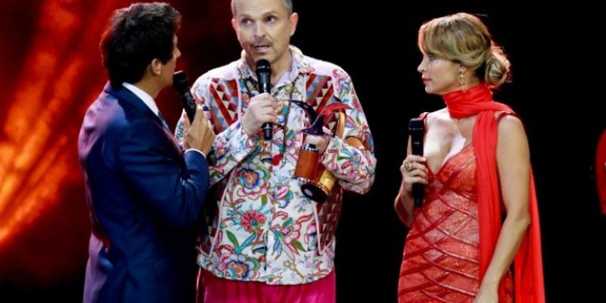 El emotivo reencuentro de Miguel Bosé en Viña: Llanto y devoción