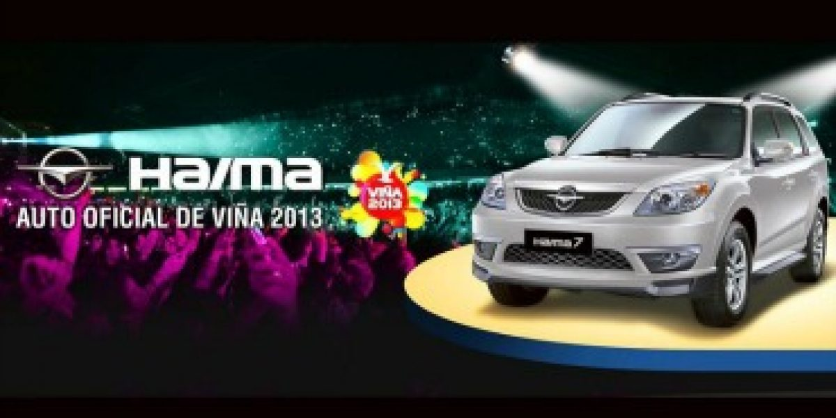 FESTIVAL DE VIÑA: El nuevo Haima 7 se presentó en el certamen