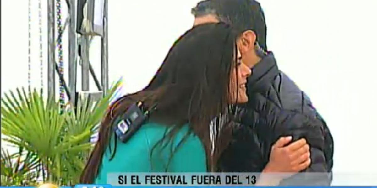 Polo Ramírez no se atrevió a besar a Tonka Tomicic