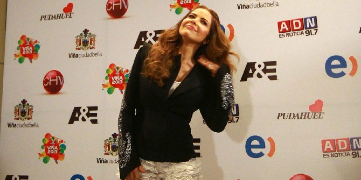 Gloria Trevi a horas de su show en Viña: