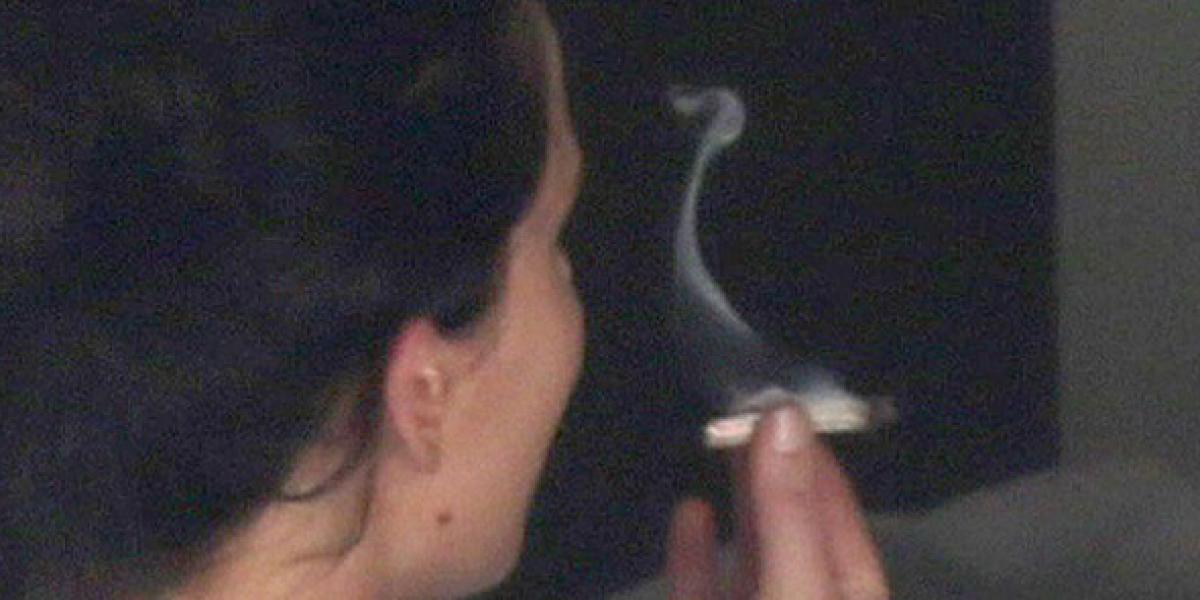 Jennifer Lawrence, otra famosa fotografiada fumando marihuana