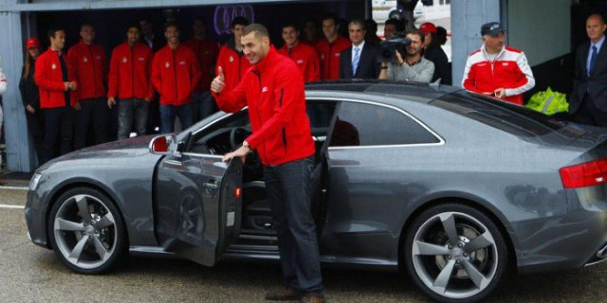 Karim Benzema es pillado a exceso de velocidad