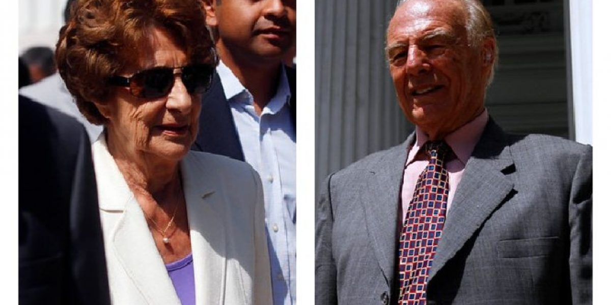 [FOTOS] Madre de Bachelet y Jorge Lavandero reaparecen en funeral de Zaldívar