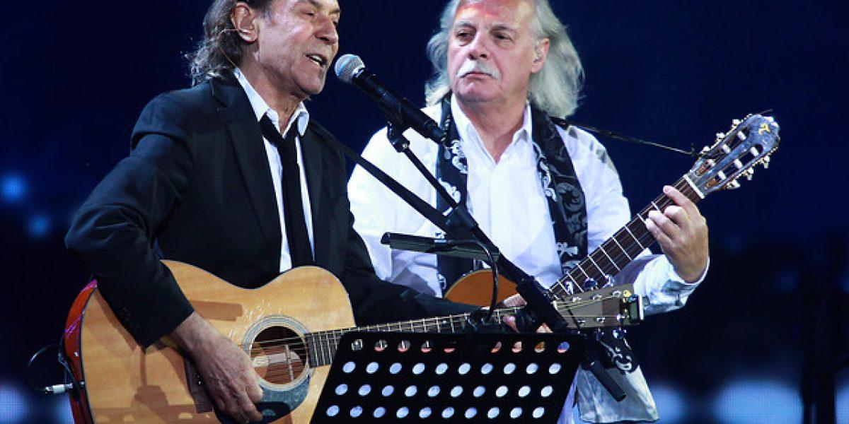 Albert Hammond invitó a tres chilenos al escenario y se fue con dos Antorchas y una Gaviota