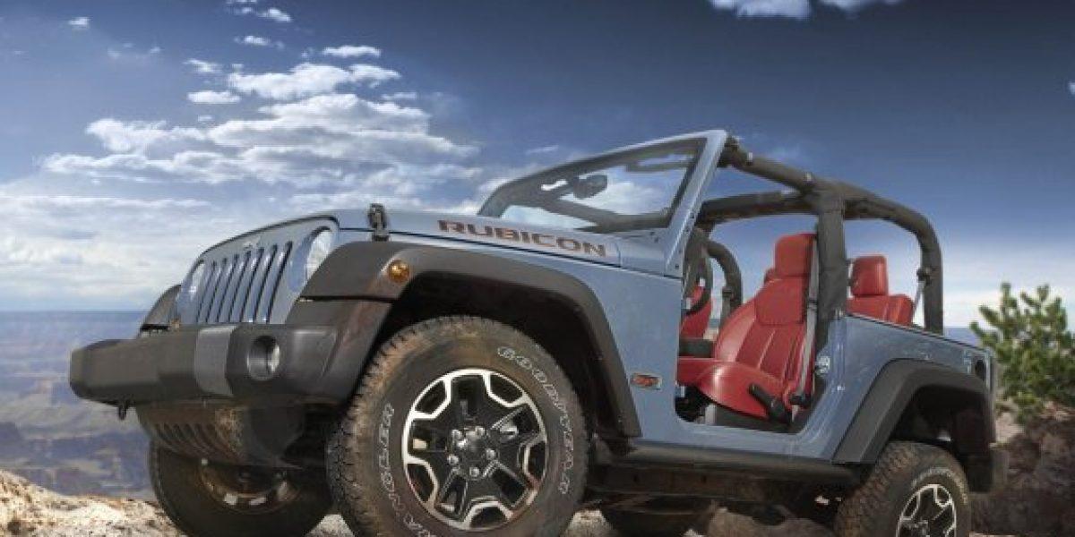 Jeep Wrangler Rubicon crea edición especial por 10º Aniversario