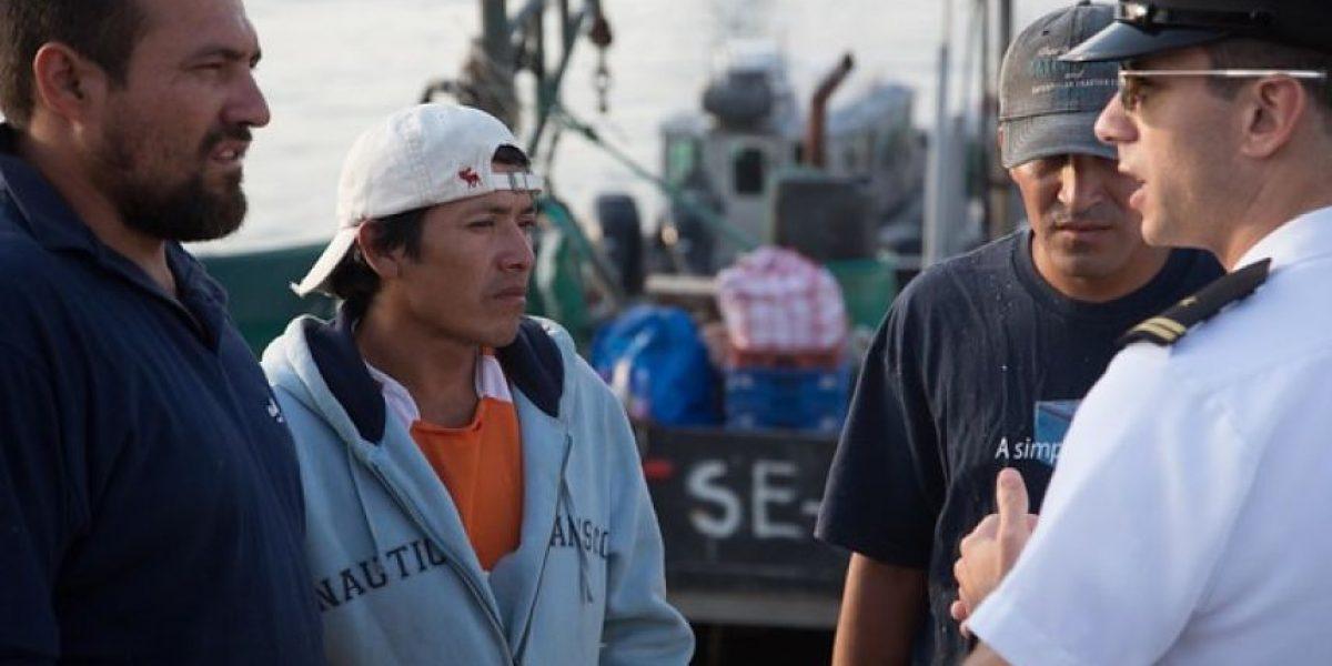 [GALERÍA] Detienen tres embarcaciones peruanas por ingresar sin autorización a territorio chileno