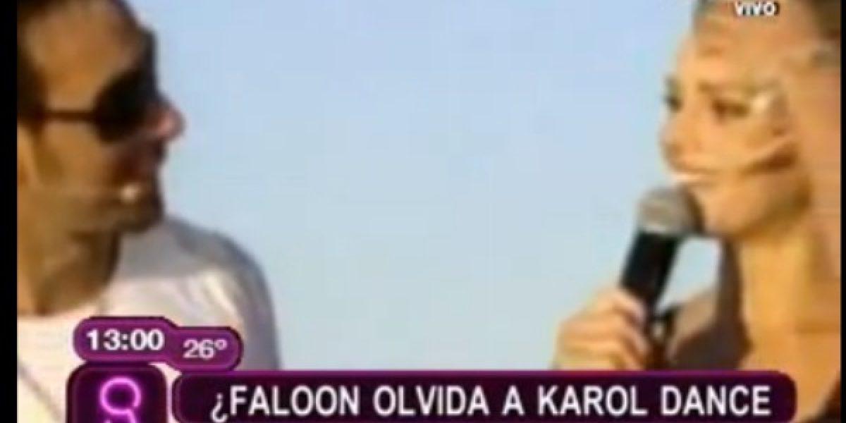 Faloon olvida a Karol Dance en los brazos de Massú