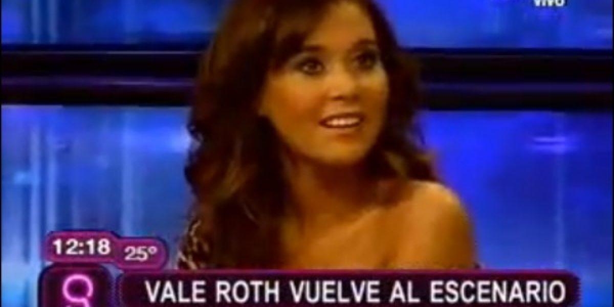 Vale Roth quiere convertirse en actriz de películas XXX