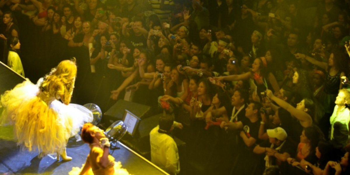 Gloria Trevi cautiva con su concierto en el Caupolicán