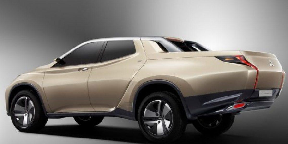 La camioneta del futuro que presentará Mitsubishi