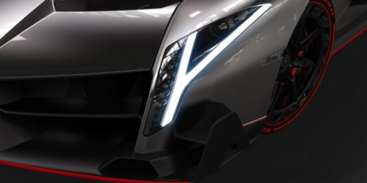 El Lamborghini de las tres unidades