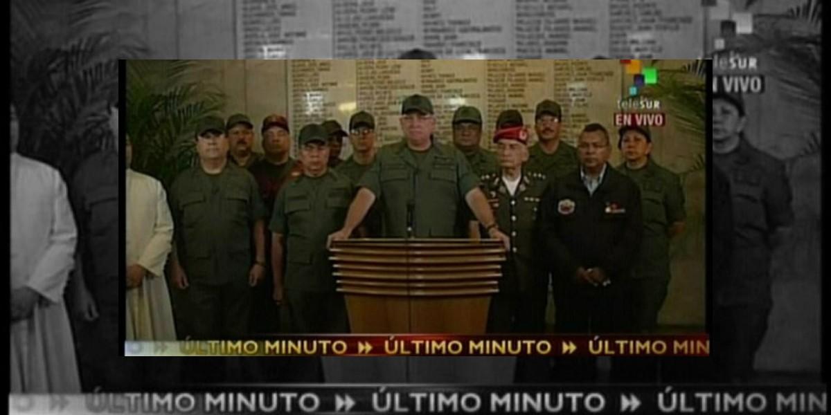 Gobierno venezolano despliega Fuerzas Armadas para garantizar la paz