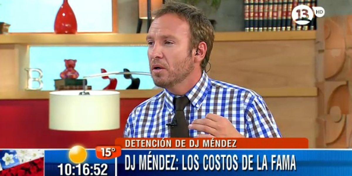 Martín Cárcamo cuenta que le pasó algo parecido a lo de Dj Méndez