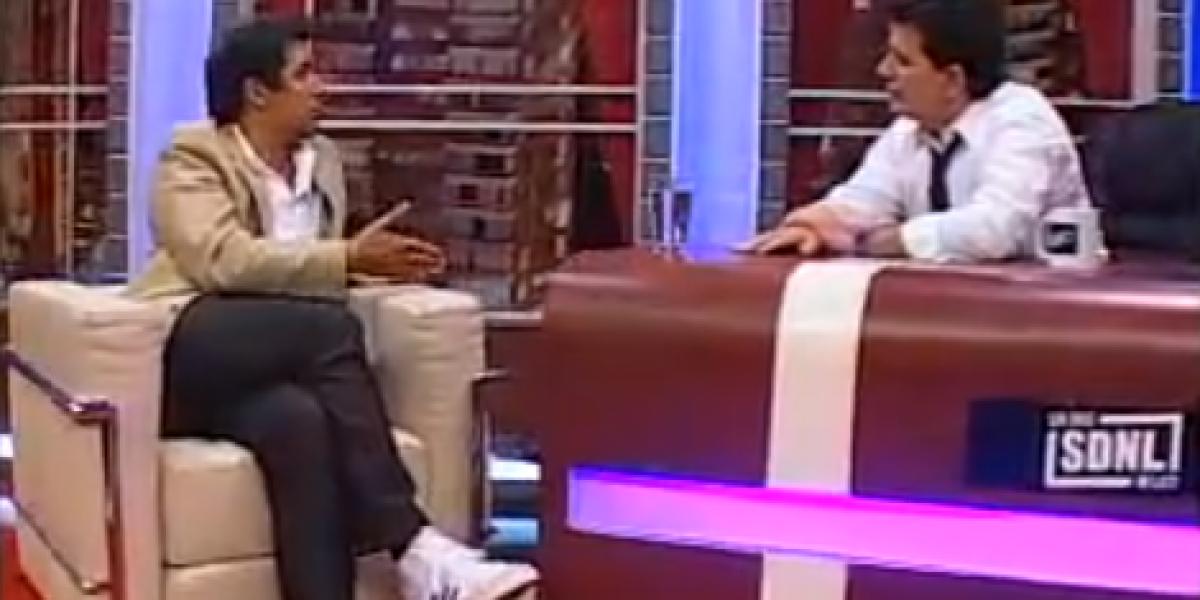 Video: Rafael Araneda responde a críticas a su compañera Eva Gómez en SDNL