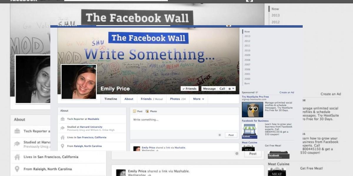 Filtración: Así será el diseño de la nueva página de perfil de Facebook