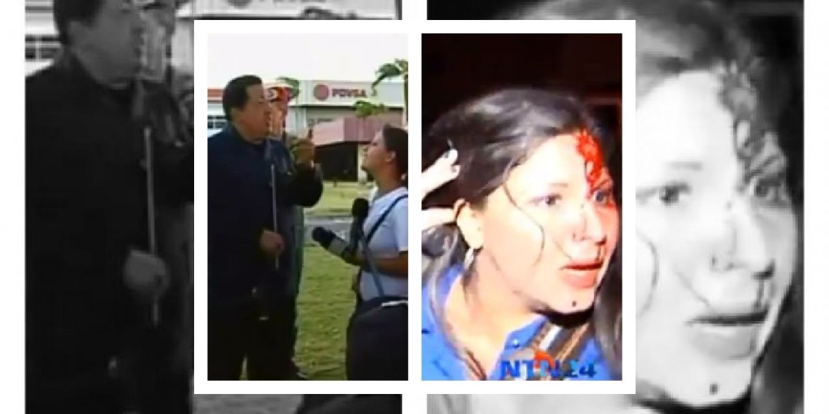 [VIDEO] Periodista colombiana agredida en Venezuela vivió tenso