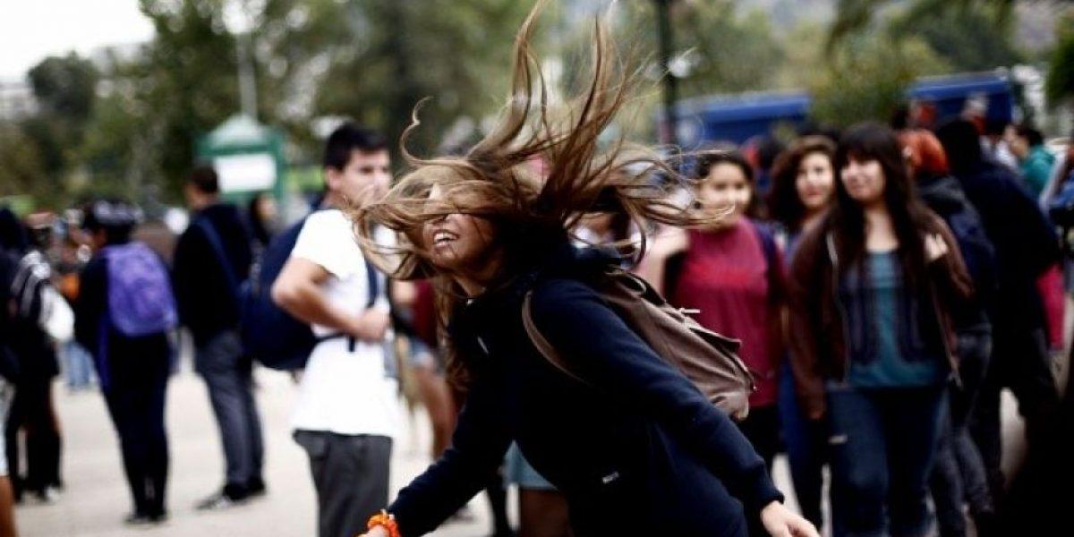 [FOTOS] Disturbios y encapuchados marcaron la primera marcha estudiantil del 2013