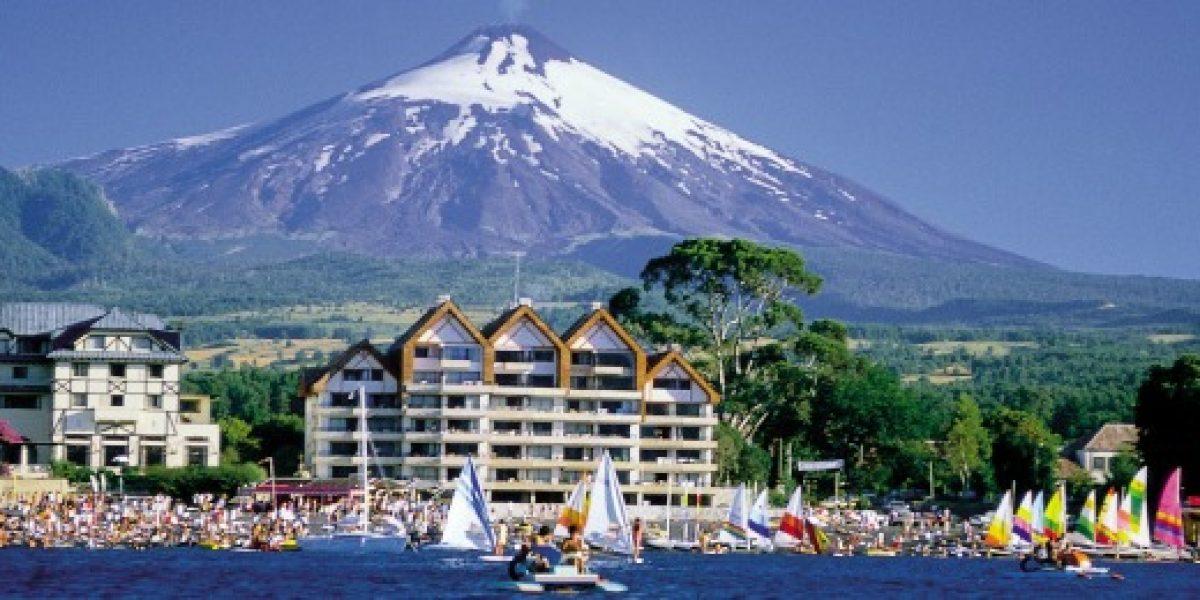 Villarrica y Pucón fueron unos de los destinos preferidos de los turistas este verano