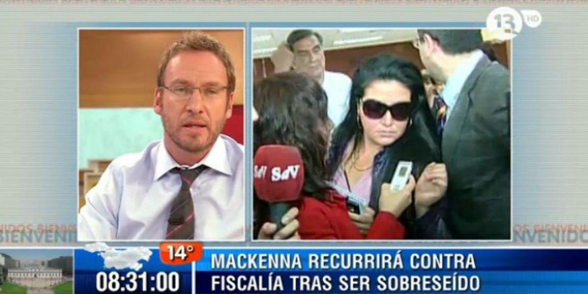 Martín Cárcamo pide disculpas a Pablo Mackenna en