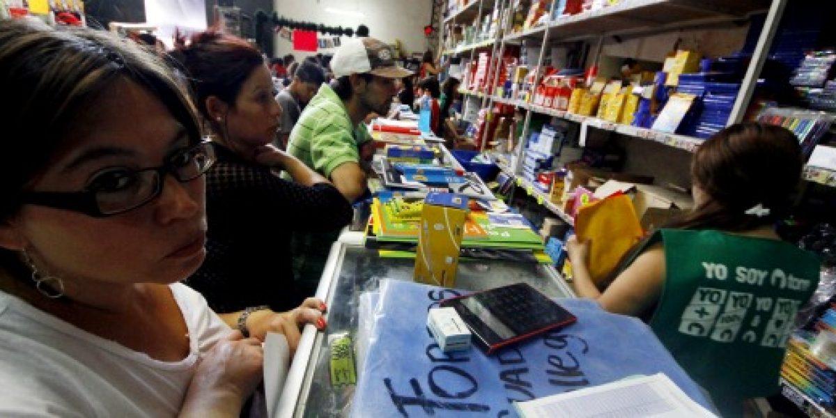 CCS: hasta $126 mil promedio gastan hogares chilenos por retorno a clases