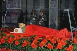 Kim Jong-il, ex Presidente de la Comisión Nacional de Defensa de Corea del Norte, muerto en 2011.. Imagen Por: