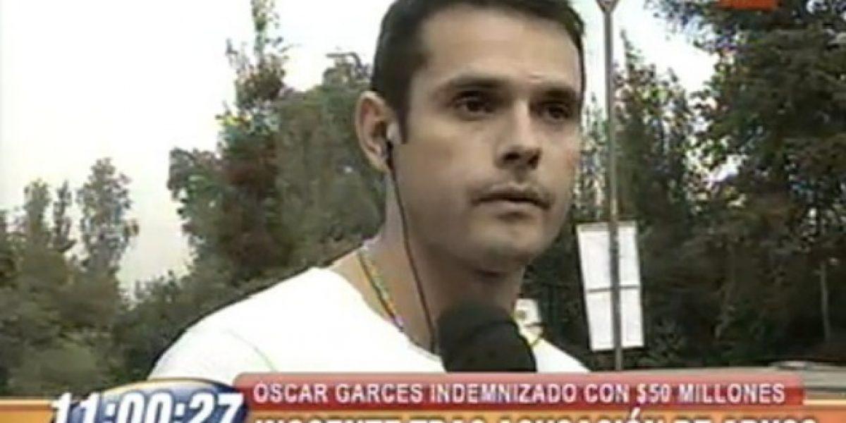 Óscar Garcés anuncia acciones legales contra ex Míster Chile por caso de abuso