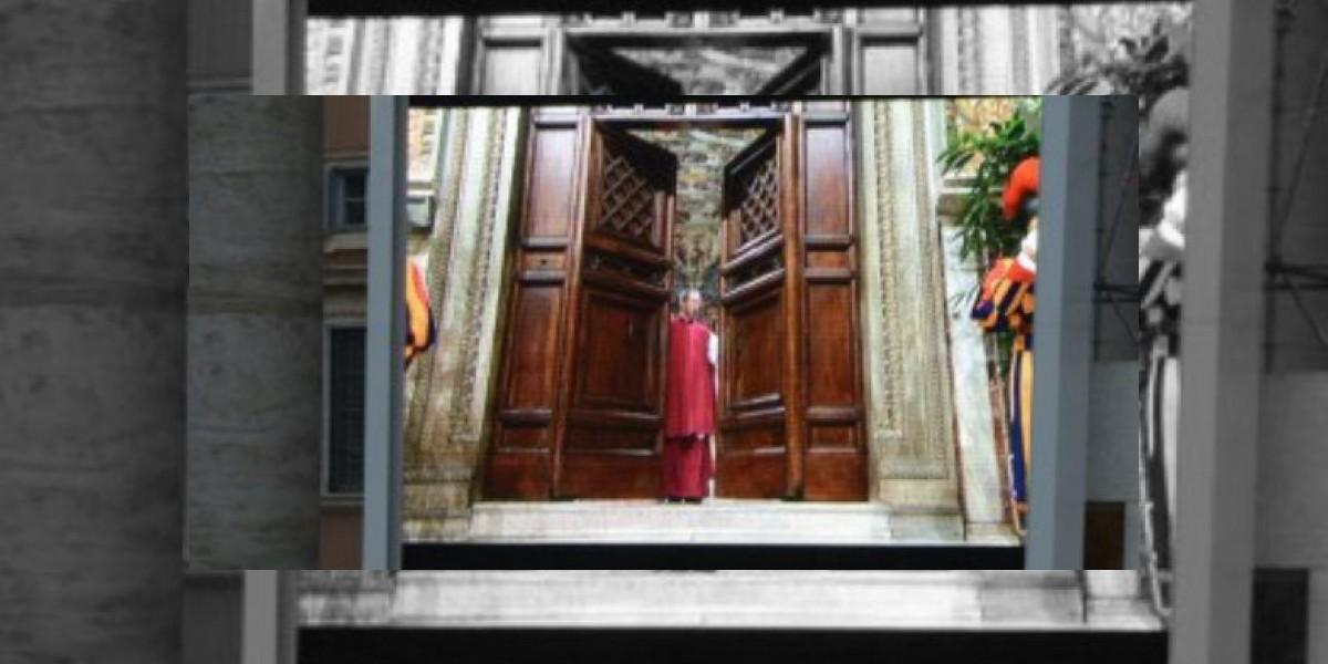 Se cerraron las puertas: Empezó el Cónclave para elegir al nuevo Papa