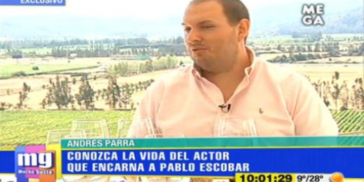 Andrés Parra por su personaje en