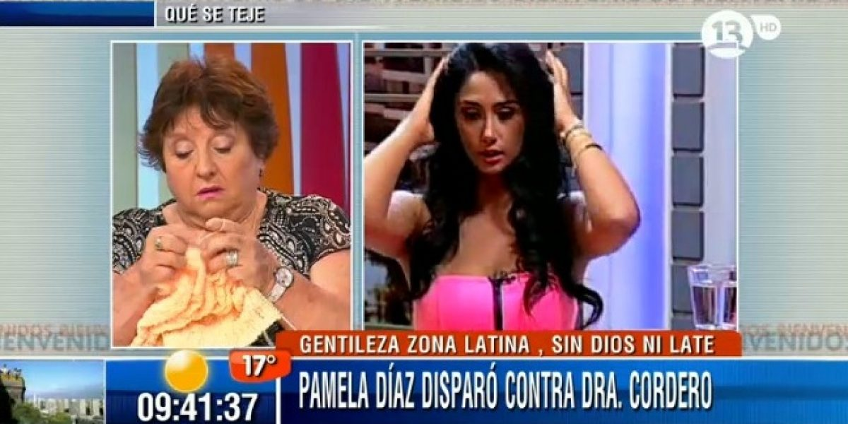 Dra. Cordero responde a amenazas de Pamela Díaz: