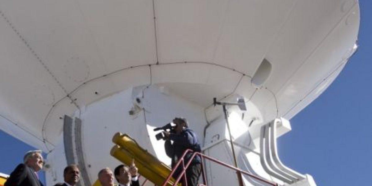 Presidente Piñera inaugura observatorio ALMA, el más potente del mundo