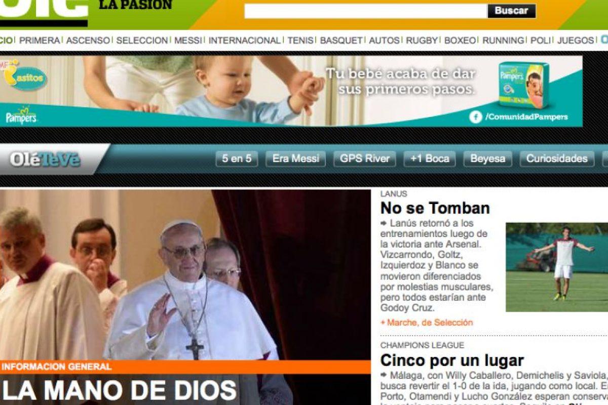 Foto:Ole.com.ar. Imagen Por: