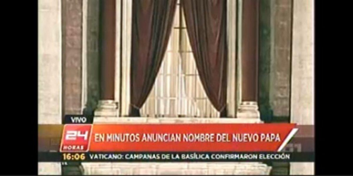 Elección del nuevo Papa tiene 50% de televisores encendidos