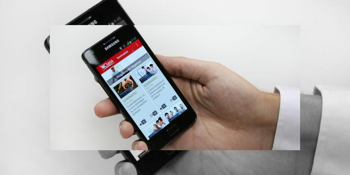 Aprenda de negocios desde su smartphone o tablet