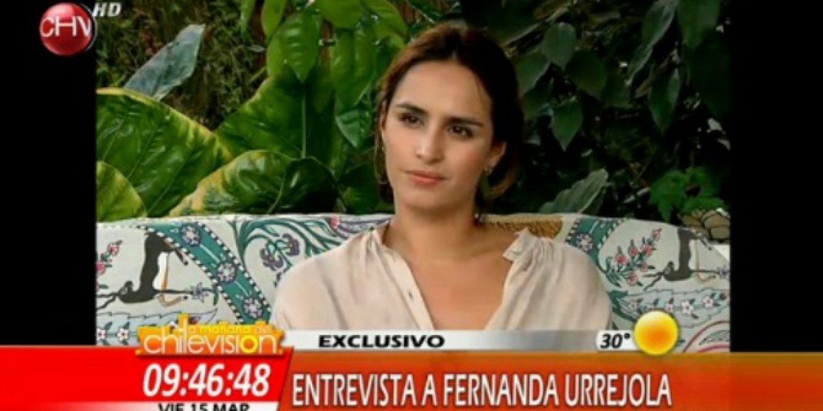 Fernanda Urrejola aclara entrevista en la que confesó que fue abusada