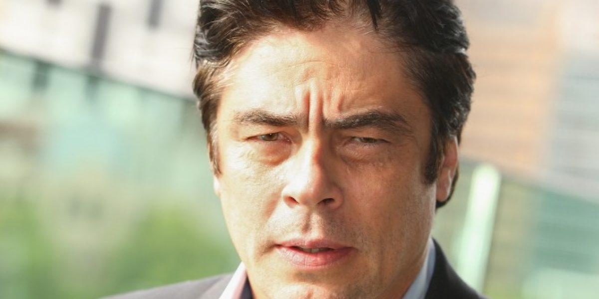 Benicio del Toro es Pablo Escobar en