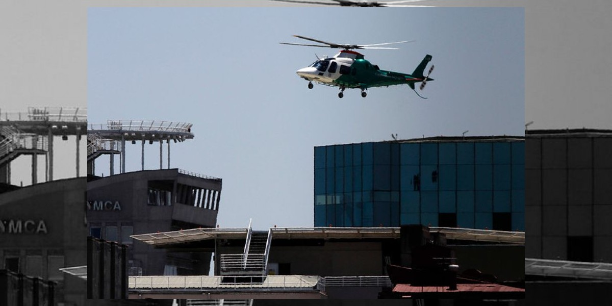 Insólito: Dos reos intentaron fugarse en helicóptero en Ucrania