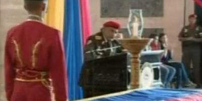Polémica frase de alto militar venezolano en velorio de Chávez: